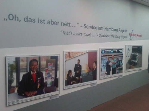 Talking about Service - Hamburg Airport